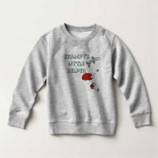 Grampy's little helper Lady bug cool custom shirt