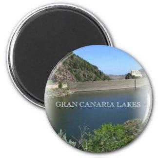 Gran Canaria lakes 006 Magnet
