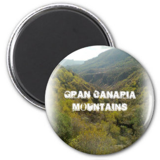 Gran Canaria Mountains 001 Magnet
