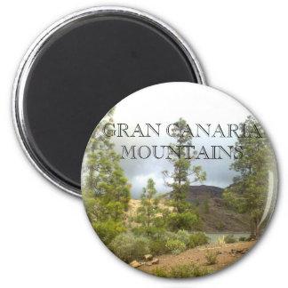 Gran Canaria Mountains A8 Magnet