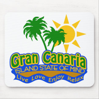Gran Canaria State of Mind mousepad