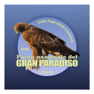 Gran Paradiso NP (Golden Eagle) WT Perfect Poster