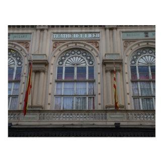 Gran Teatre del Liceu, Barcelona Postcard