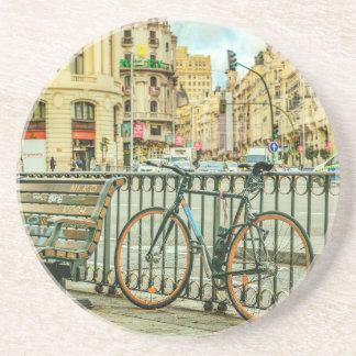 Gran Via Street, Madrid, Spain Coaster
