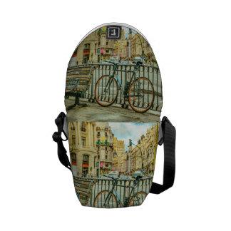 Gran Via Street, Madrid, Spain Courier Bag