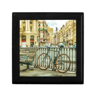 Gran Via Street, Madrid, Spain Gift Box