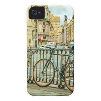 Gran Via Street, Madrid, Spain iPhone 4 Case