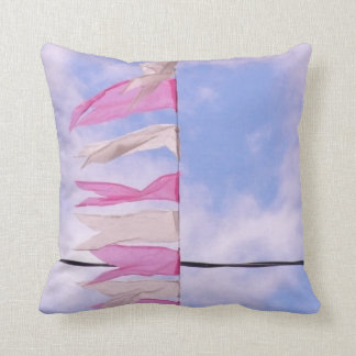 Granada - Bunting flags in the Sky Throw Pillow