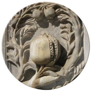 Granada Carved Art  Decorative Porcelain Plate