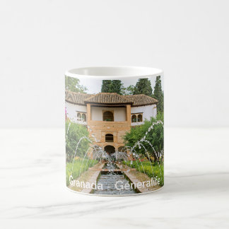 Granada. Generalife. The Court of la Acequia Coffee Mug