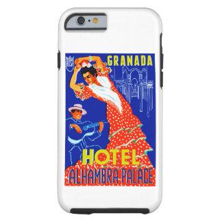 Granada Hotel Alhambra Palace Tough iPhone 6 Case