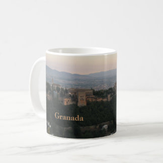 Granada Spain, Alhambra Postcard Coffee Mug