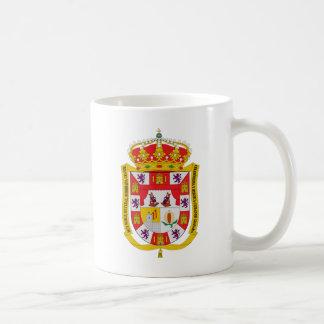Granada (Spain) Coat of Arms Coffee Mug