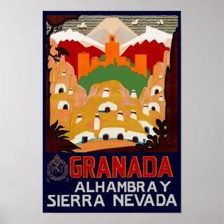 Granada Spain Poster