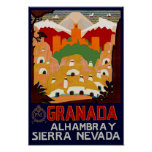 Granada Spain Print