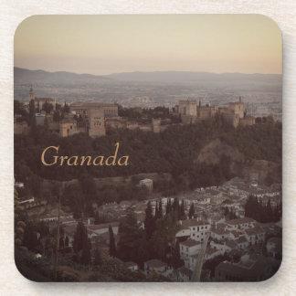 Granada,Spain View Photo plastic coasters