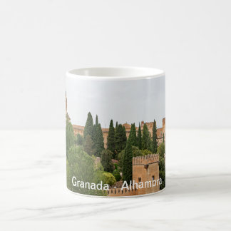 Granada. View of the Alhambra Coffee Mug