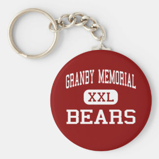 Granby Memorial - Bears - Middle - Granby Keychain