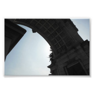 Grand Army Plaza: Under the Arch Photographic Print