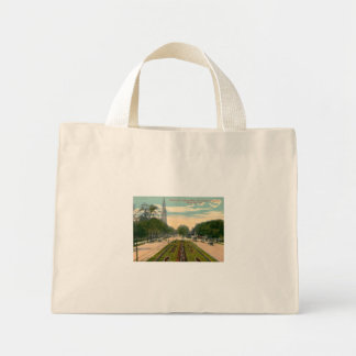 Grand Ave Milwaukee Wisconsin Vintage Canvas Bag