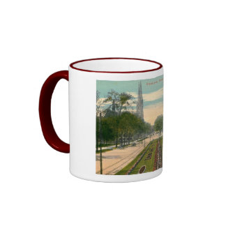 Grand Ave Milwaukee Wisconsin Vintage Mugs