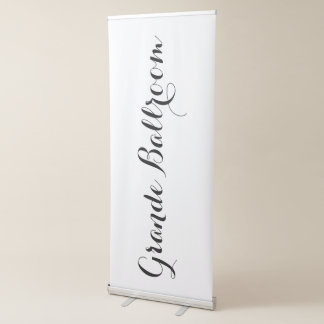Grand Ballroom Wedding Reception Business Sign