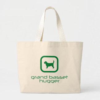 Grand Basset Griffon Vendeen Jumbo Tote Bag