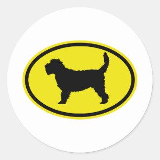 Grand Basset Griffon Vendeen Classic Round Sticker