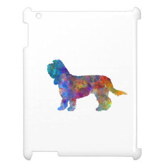 Grand Basset Griffon Vendeen in watercolor Cover For The iPad