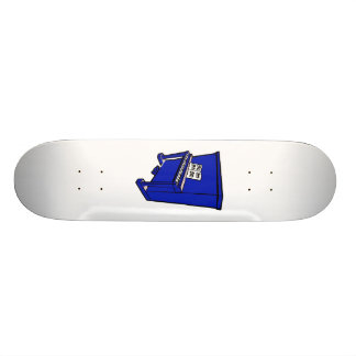 grand blue upright piano with music.png custom skateboard