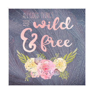 Grand Bohemian Wild & Free Nursery Wall Art