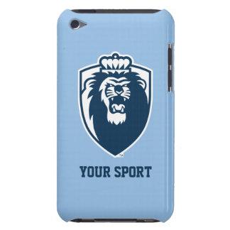 Grand bouclier bleu de monarques - bleu étuis barely there iPod