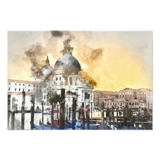 Grand Canal of Venice Italy Photo Print