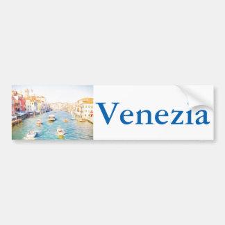Grand Canal Venice Bumper Sticker