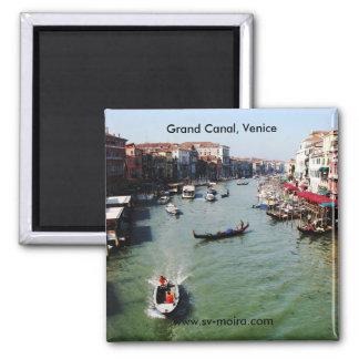 Grand Canal, Venice from Rialto Bridge Magnet