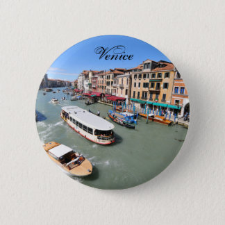 Grand Canal, Venice, Italy 2 Inch Round Button