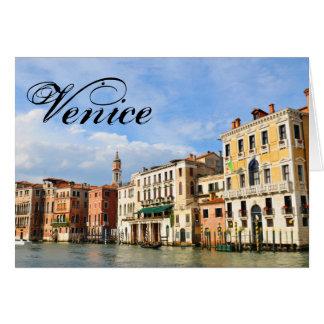 Grand Canal, Venice, Italy Card