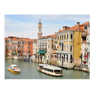 Grand Canal, Venice, Italy Postcard