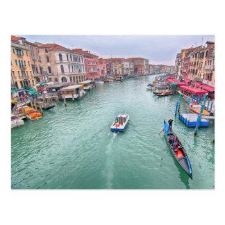 Grand Canal, Venice Italy Postcard