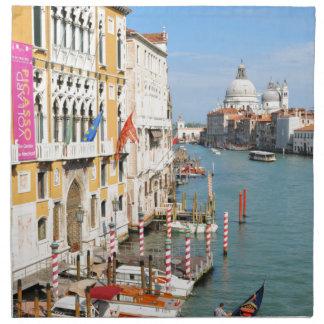 Grand Canal, Venice, Italy Printed Napkin