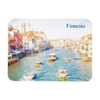 Grand Canal Venice Rectangular Photo Magnet