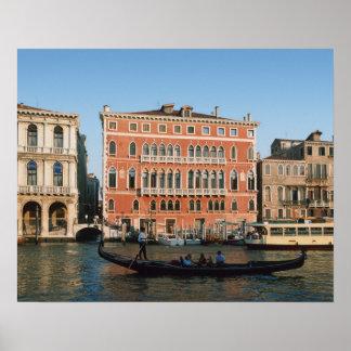 Grand Canal, Venice, Veneto, Italy Poster