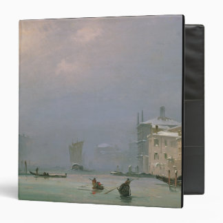 Grand Canal with Snow and Ice, 1849 Vinyl Binders