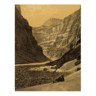 Grand Canon, Colorado River Postcard