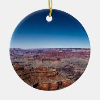 Grand Canyon 5 Round Ceramic Ornament