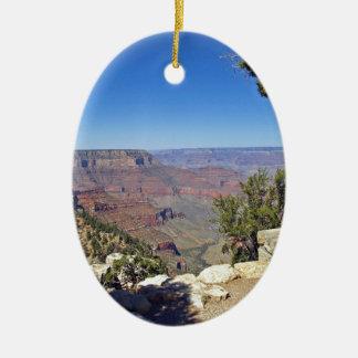 Grand Canyon 9 Ceramic Oval Ornament