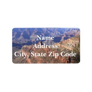 Grand Canyon Address Labels