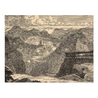 Grand Canyon, Amphitheatre, Sculptured Buttes Postcard