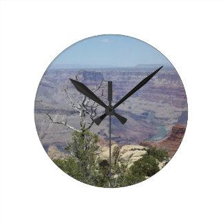 Grand Canyon Arizona Round Clock