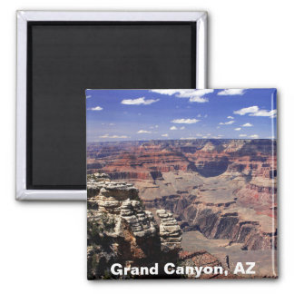 Grand Canyon, Arizona Square Magnet